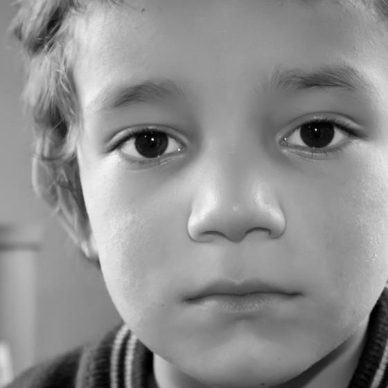 Fotografía niños en la pobreza