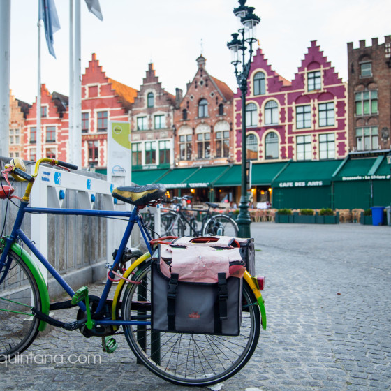 Bicis en Europa, fotografía de calle