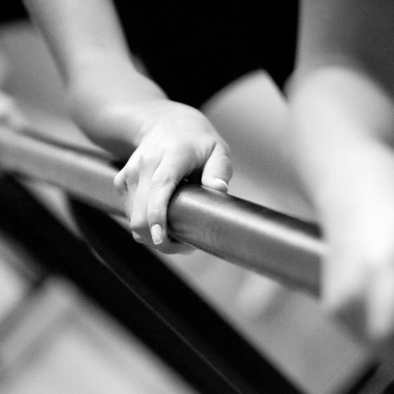 Ballet en blanco y negro