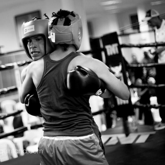 Fotografía de boxeo
