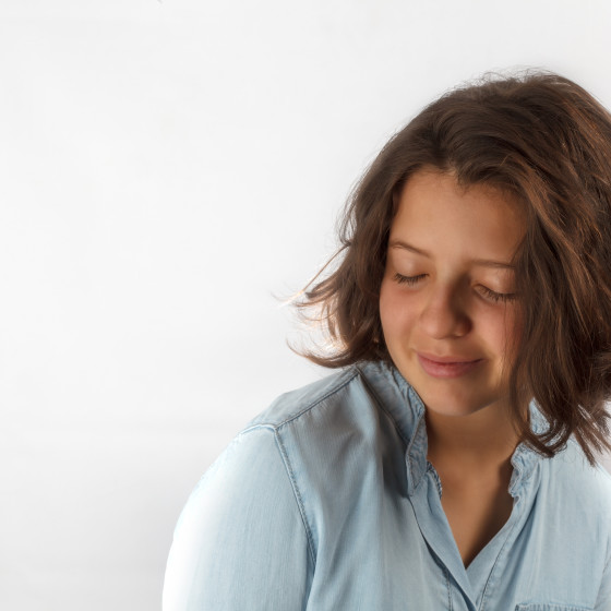 Retrato adolescente